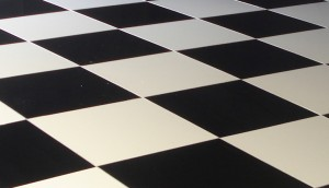 Black & White Dance floor  Gloucestershire Furniture Hire (1)