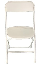 White Folding Chair Gloucestershire Furniture Hire